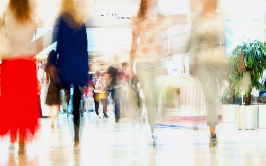 ☀ NOMINATED!!! ☀ Abstract defocused motion blurred people